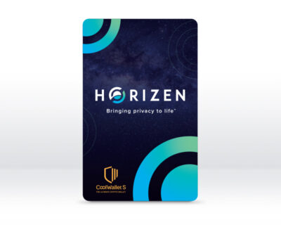 [Limited Edition] Horizen CoolWallet S – Bluetooth Hardware Crypto Wallet