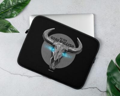 Be ZEN Stay Bullish – Laptop Sleeve