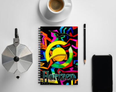 Turn Up the Sun Spiral notebook